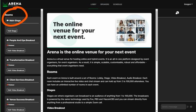 event-lobby